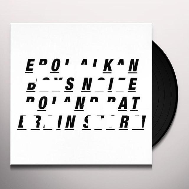 Erol Alkan & Boys Noize ROLAND RAT / BRAIN STORM Vinyl Record