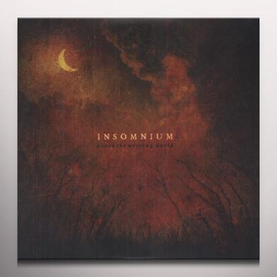 Insomnium ABOVE THE WEEPING WORLD Vinyl Record