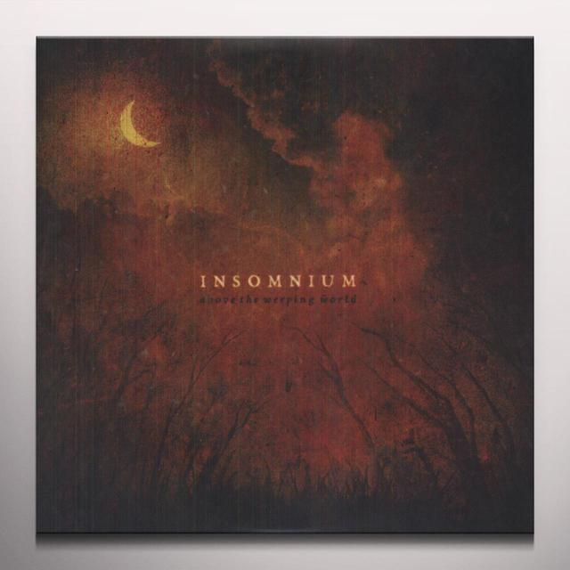 Insomnium ABOVE THE WEEPING WORLD Vinyl Record - Colored Vinyl