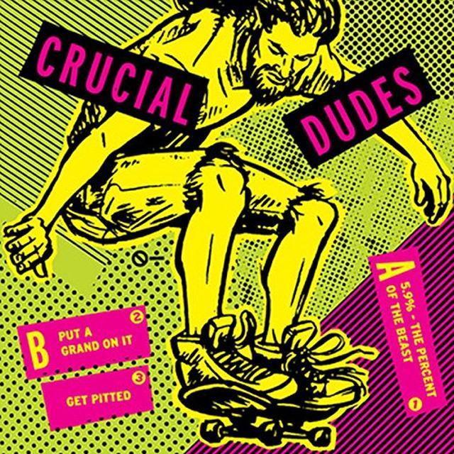 Crucial Dudes / Hisdayhascome SPLIT Vinyl Record