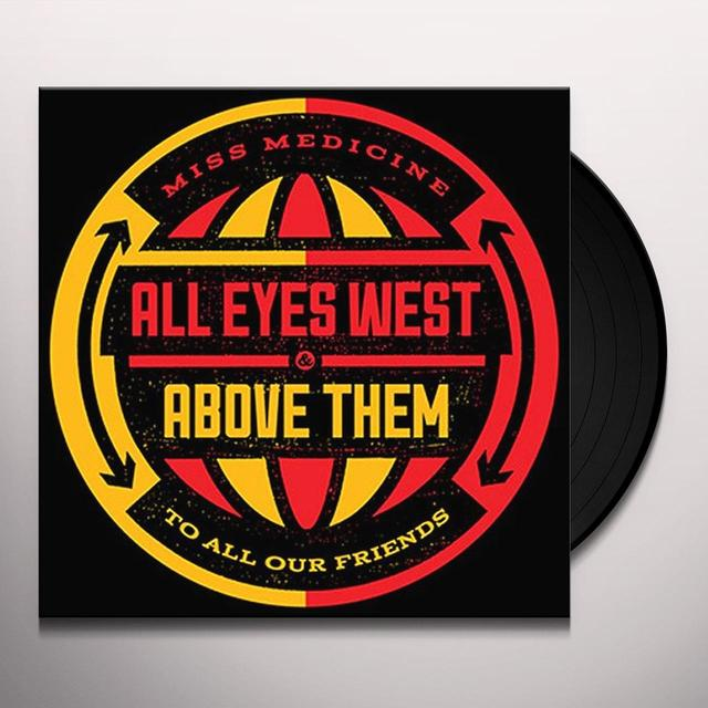 All Eyes West / Above Them SPLIT Vinyl Record