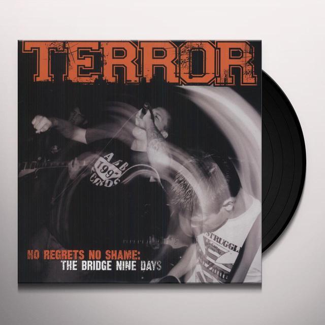 Terror NO REGRETS NO SHAME Vinyl Record
