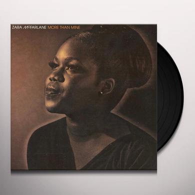 Zara Mcfarlane MORE THAN MINE / LIONS OF CHIAROSCURO Vinyl Record
