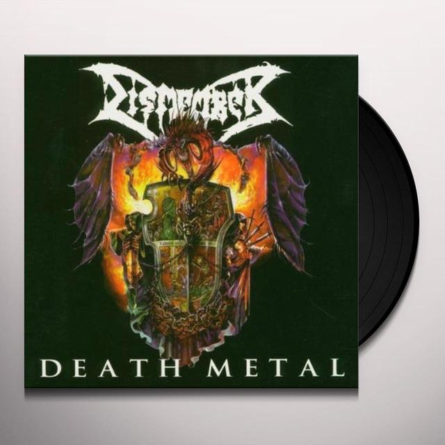 Dismember DEATH METAL Vinyl Record - Limited Edition, 180 Gram Pressing