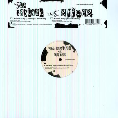 Sly Bastard Vs Effcee SEVEN NATION ARMY Vinyl Record