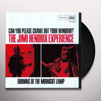 Jimi Hendrix CAN YOU PLEASE CRAWL OUT YOUR WINDOW / BURNING OF Vinyl Record