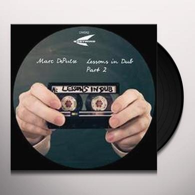 Marc Depulse LESSONS IN DUB PART 2 Vinyl Record