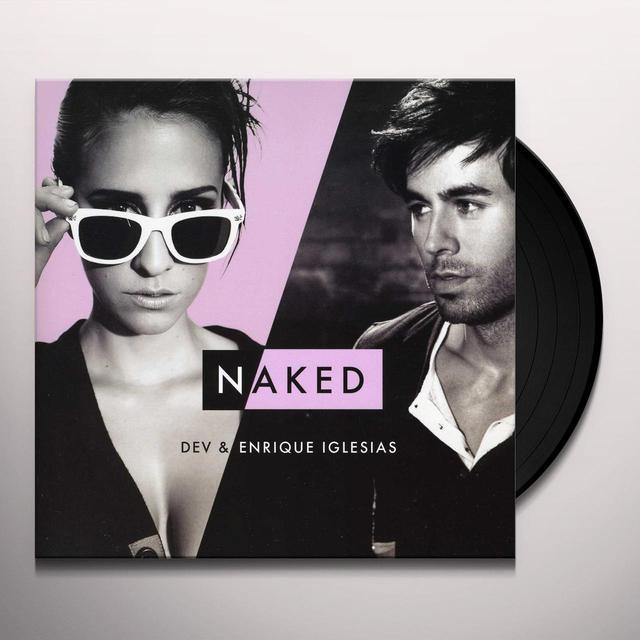Enrique Iglesias NAKED / NAKED (R3HAB REMIX) (Vinyl)
