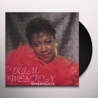 Kim Weston INVESTIGATE Vinyl Record