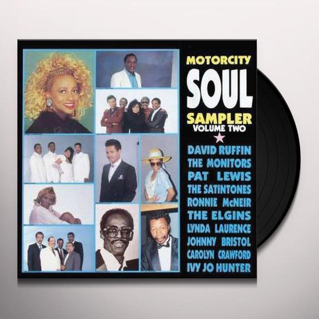 Motorcity Soul Sampler 2 MOTOWN ARTISTS-80'S RECORDINGS Vinyl Record