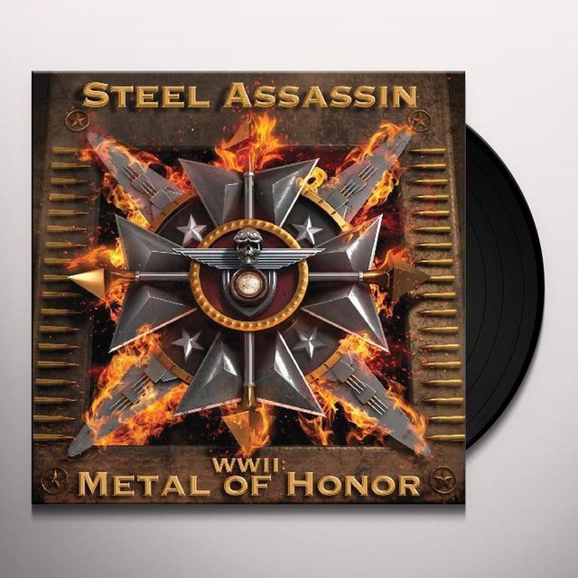 Steel Assassin WWII: METAL OF HONOR Vinyl Record