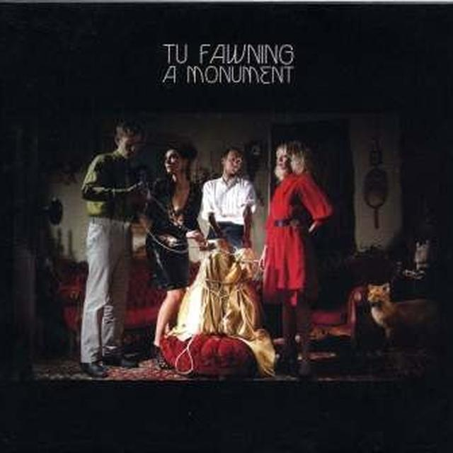 Tu Fawning MONUMENT Vinyl Record