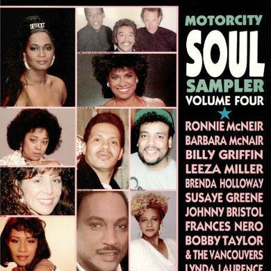 Motorcity Soul Sampler 4 MOTOWN ARTISTS-80'S RECORDINGS Vinyl Record