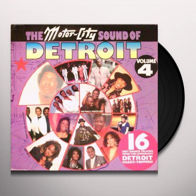 Motortown Sound Of Detroit 2 MOTOWN ARTISTS-80'S RECORDINGS Vinyl Record