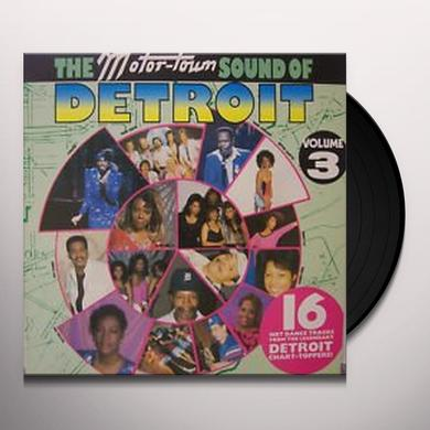 Motortown Sound Of Detroit 3 MOTOWN ARTISTS-80'S RECORDINGS Vinyl Record