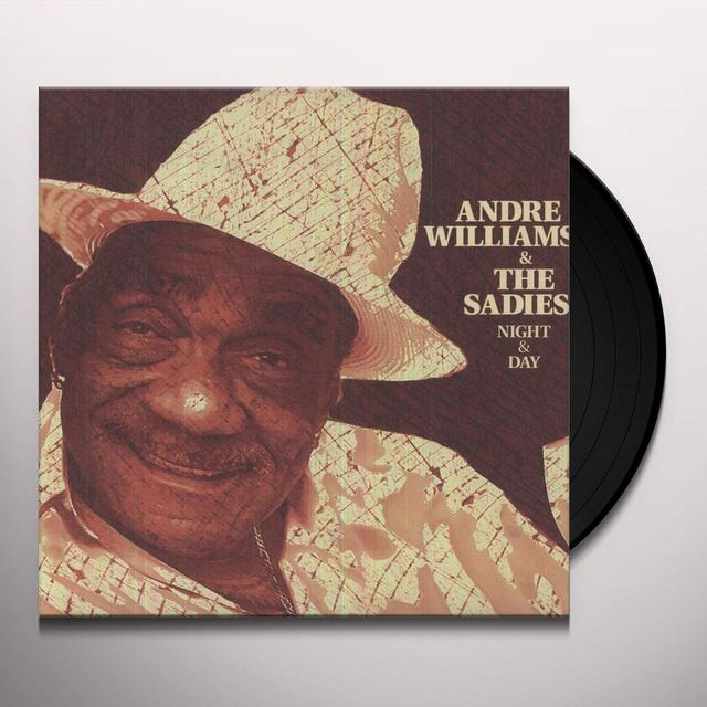 Andre Williams & Sadies NIGHT & DAY (Vinyl)