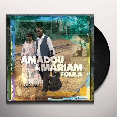 Amadou & Mariam FOLILA Vinyl Record - w/CD