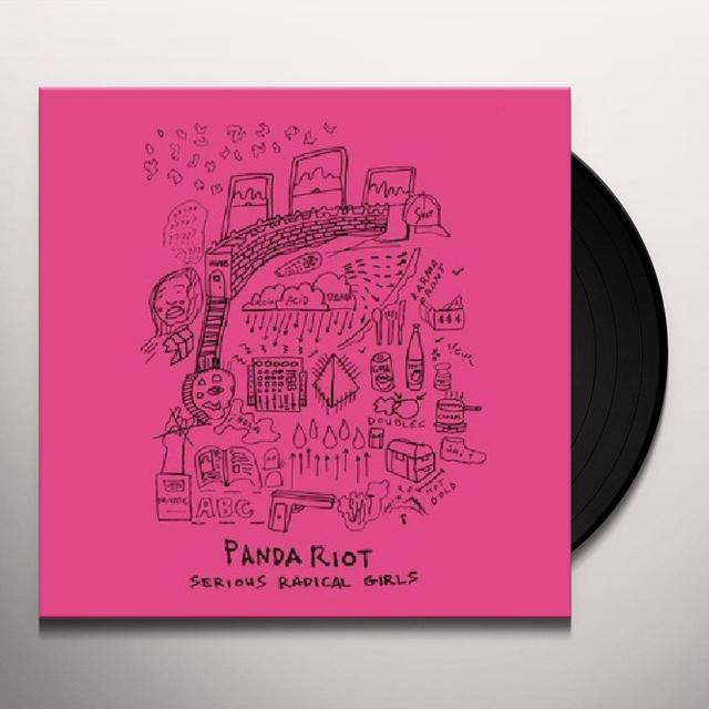 Panda Riot SERIOUS RADICAL GIRLS Vinyl Record