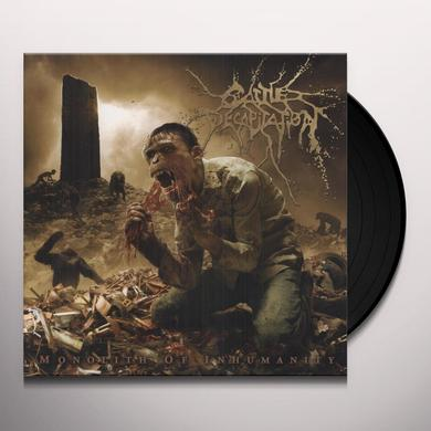 Cattle Decapitation MONOLITH OF INHUMANITY Vinyl Record