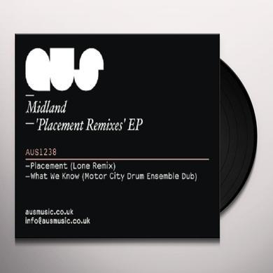 Midland PLACEMENT REMIXES (EP) Vinyl Record
