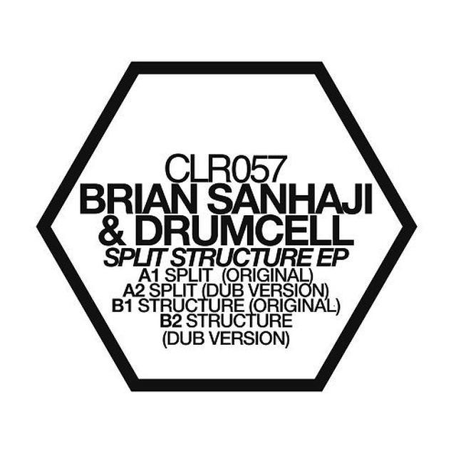 Brian Sanhaji & Drumcell SPLIT STRUCTURE Vinyl Record