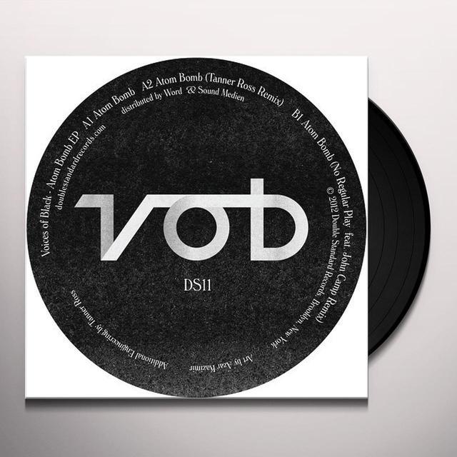 Voices Of Black ATOM BOMB (EP) Vinyl Record