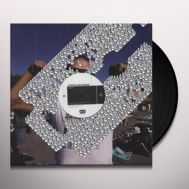 Stefan Goldmann ADEM Vinyl Record