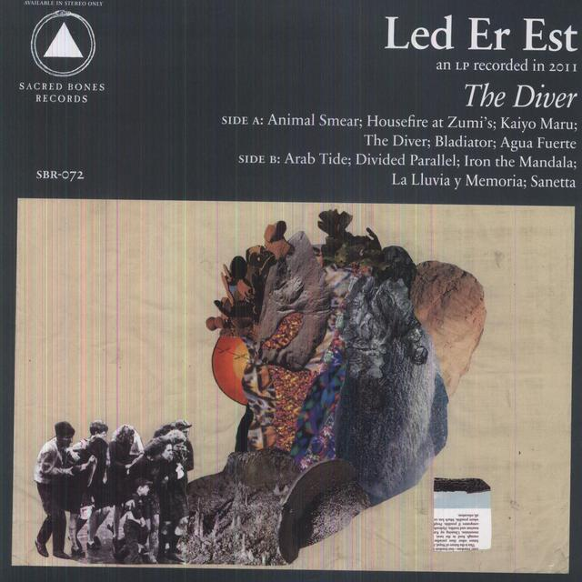 Led Er Est DIVER Vinyl Record