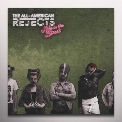 The All-American Rejects KIDS IN THE STREET Vinyl Record - Green Vinyl, Red Vinyl, Clear Vinyl