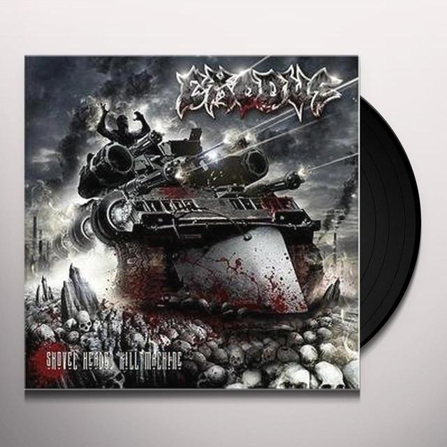 Exodus SHOVEL HEADED KILL MACHINE Vinyl Record - Limited Edition, 180 Gram Pressing