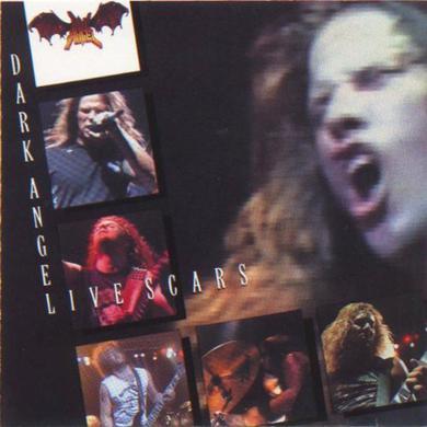 Dark Angel LIVE SCARS Vinyl Record