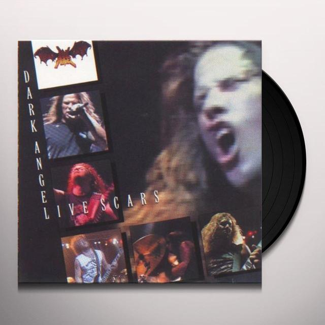 Dark Angel LIVE SCARS Vinyl Record - Limited Edition, 180 Gram Pressing