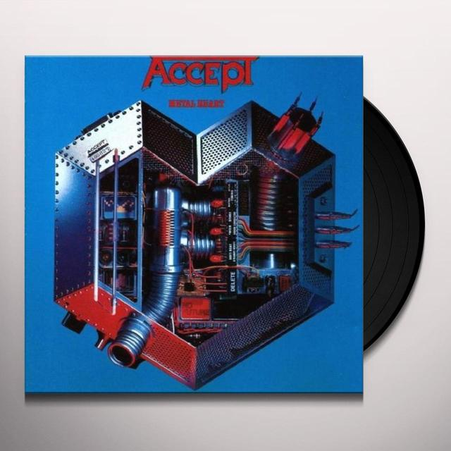 Accept METAL HEART Vinyl Record - Limited Edition, 180 Gram Pressing