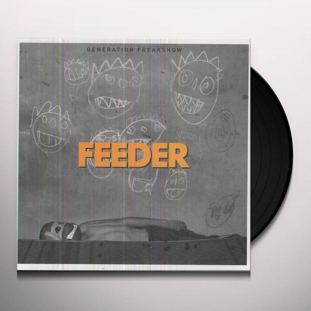 Feeder GENERATION FREAKSHOW Vinyl Record