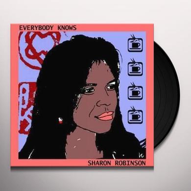 Sharon Robinson EVERYBODY KNOWS Vinyl Record - UK Import