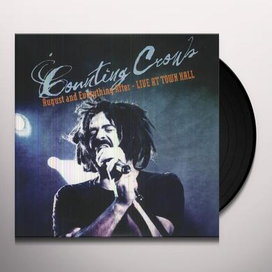 Counting Crows AUGUST & EVERYTHING AFTER Vinyl Record - Limited Edition, 180 Gram Pressing