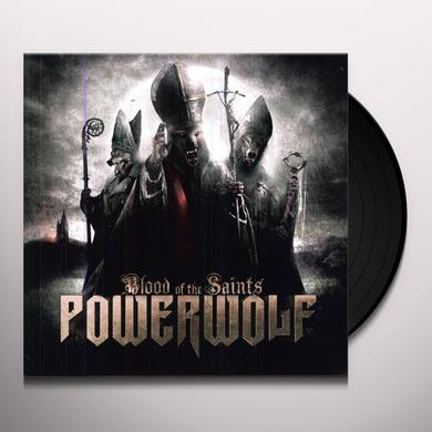 Powerwolf BLOOD OF THE SAINTS Vinyl Record - UK Release