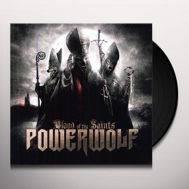 Powerwolf BLOOD OF THE SAINTS Vinyl Record - UK Release