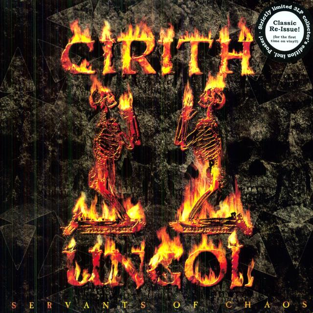 Cirith Ungol SERVANTS OF CHAOS Vinyl Record