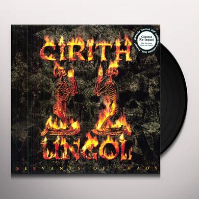 Cirith Ungol SERVANTS OF CHAOS Vinyl Record