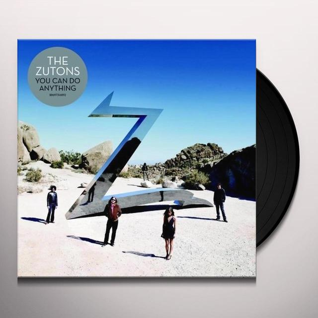 Zutons YOU CAN DO ANYTHING Vinyl Record - UK Import