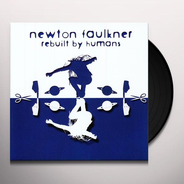 Newton Faulkner REBUILT BY HUMANS Vinyl Record - UK Import