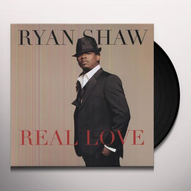 Ryan Shaw REAL LOVE Vinyl Record