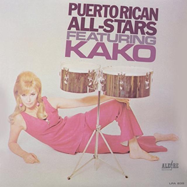 Kako PUERTO RICAN ALL-STARS Vinyl Record