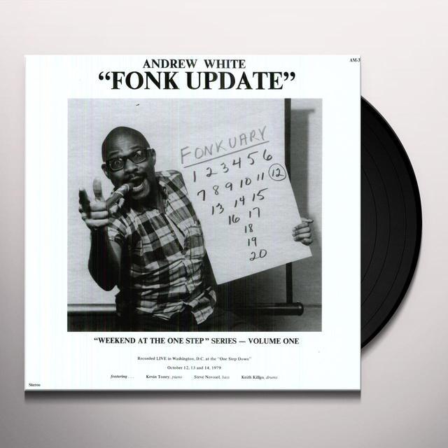 Andrew White FONK UPDATE Vinyl Record