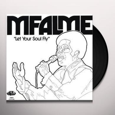 Mfalme LET YOUR SOUL FLY Vinyl Record