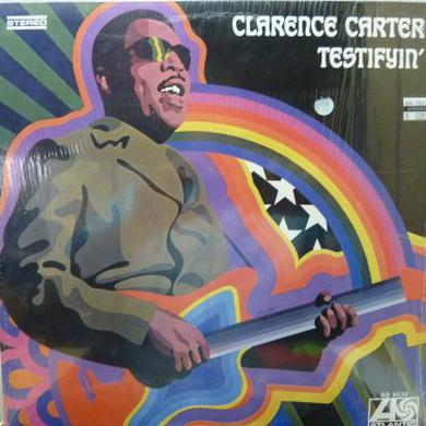 Clarence Carter TESTIFYIN Vinyl Record