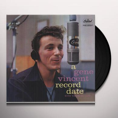 GENE VINCENT RECORD DATE WITH THE BLUECAPS Vinyl Record