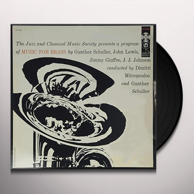 Brass Emsemble MUSIC FOR BRASS Vinyl Record
