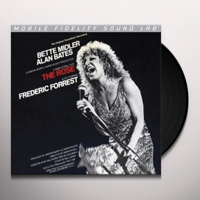 Bette Midler ROSE / O.S.T. Vinyl Record - Limited Edition